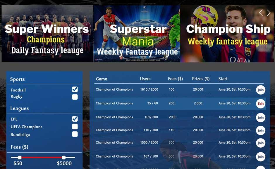 Fantasy Sports Ad-Modules