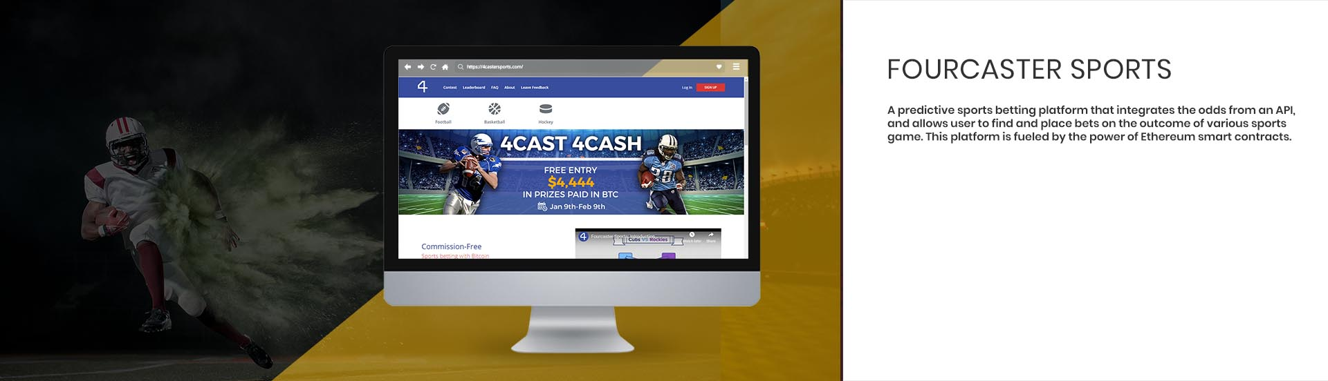 application solution for sports betting