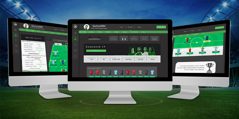 Fantasy Sports Website Designing