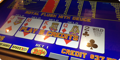 TRON Video Poker Games