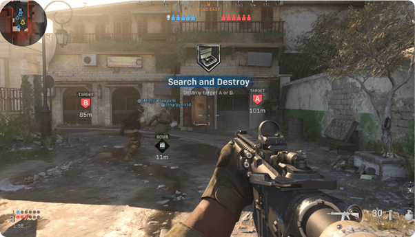 Call Of Duty Tournament - Search & Destroy