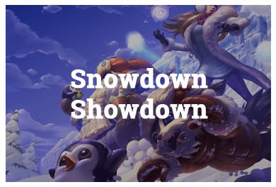 League Of Legends Modes - Snowdown Showdown