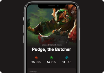 DOTA-2 Esports Mobile Application Development
