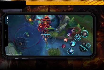 League Of Legends Mobile Application