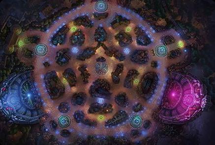 Crystal Scar - League Of Legends Platform