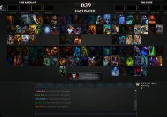 Esports Tournament Platform For Dota-2 - MATCHMAKING MODE