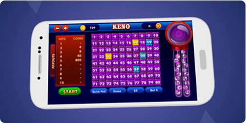 Keno Mobile Application Development