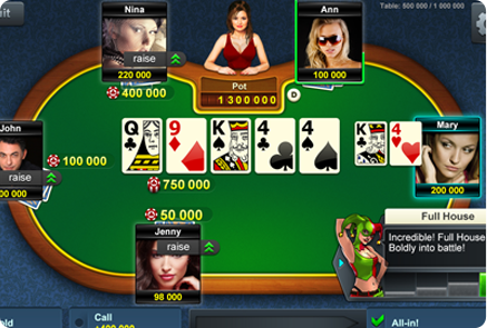 Fantasy Poker Game Platform