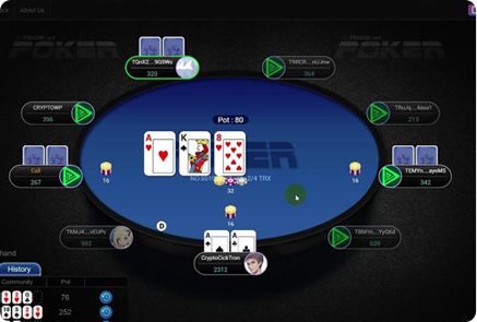 Crypto Based Poker Game Platform