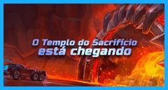 Nova Arena: Temple of Sacrifice está chegando!