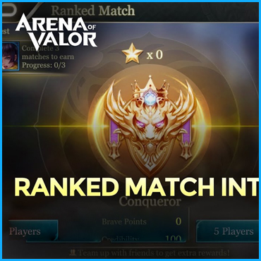 Ranked Match [5v5] Game Modes Of Arena Of Valor
