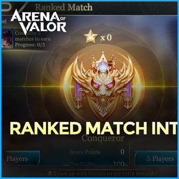 Ranked Match [5v5] Game Modes Of Arena Of Valor