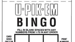 U-Pick'em Bingo Online Casino Games
