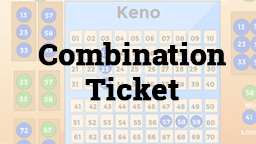 Keno Combination Ticket Online Casino Games