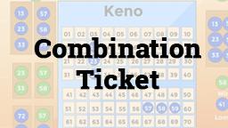 Keno Combination Ticket Online Casino Games