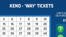 Keno Way Ticket Online Casino Games