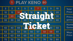 Keno Straight Ticket Online Casino Games