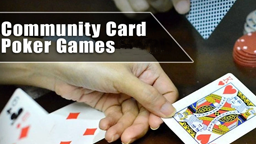 Community Card Poker Online Casino Games