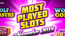Most Played Slots - Online Casino Games