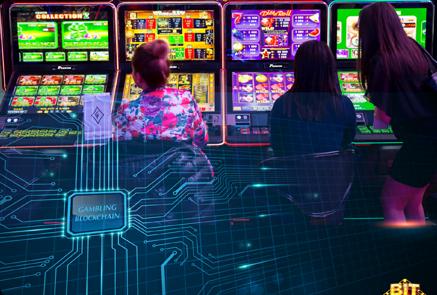 Blockchain Based Slot Game Software