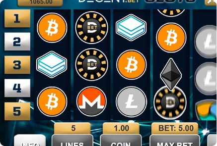 Crypto Based Slot Game Betting Solution