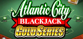 Atlantic City Gold Series Blackjack Game