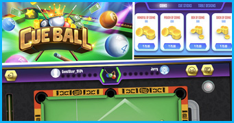 Cue-ball Pool Game Development