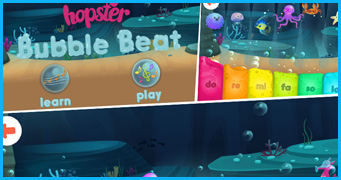 HOPSTER - BUBBLE BEAT Game Development