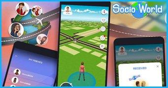 Socio-world Location based Game Development