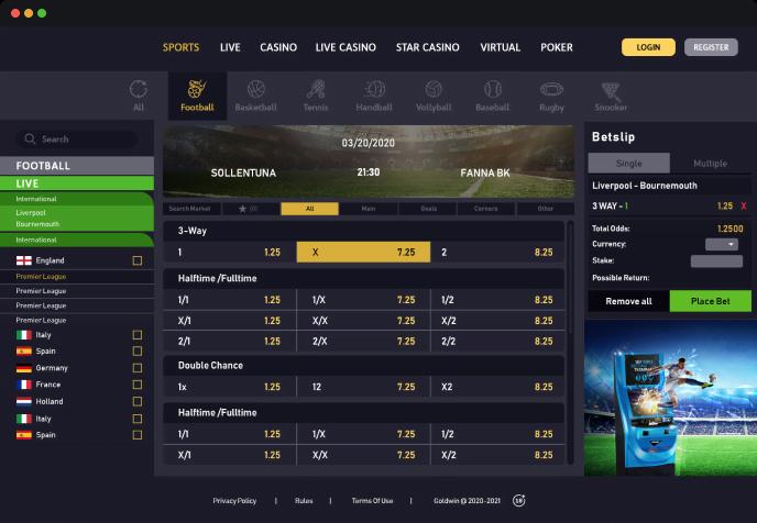 Season-long Football Fantasy Platform