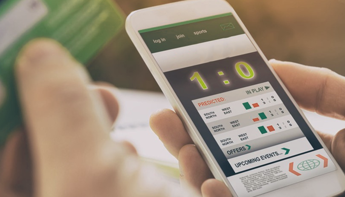 Sports betting mobile app