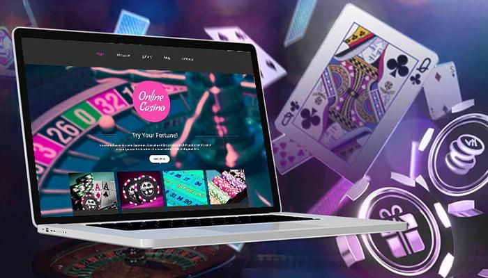 Online casino website development