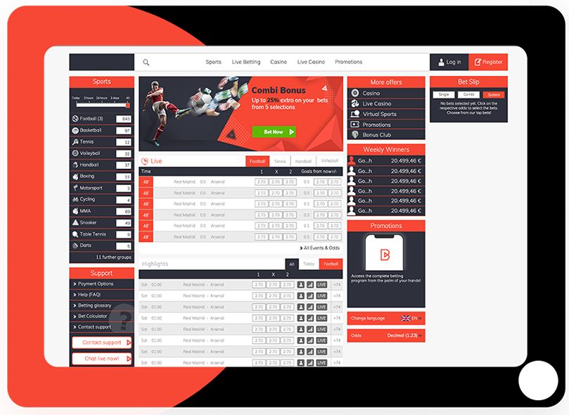Reality Betting Software