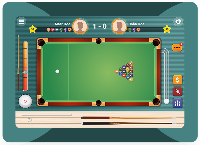 Snooker Game Development