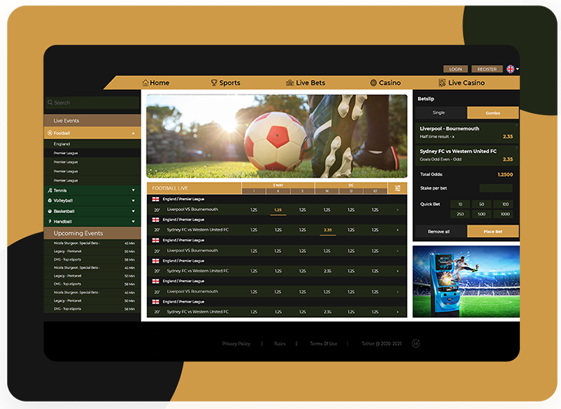 pari-mutuel golf betting software free