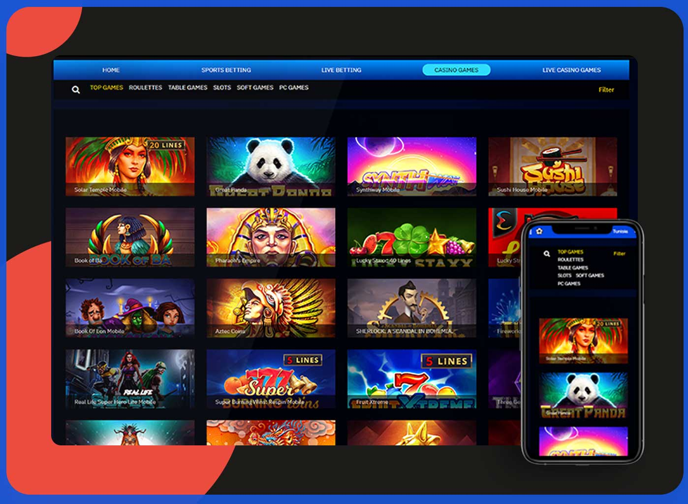 Online & Live Casino Solutions