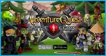 ADVENTURE QUEST BATTLE GEMS Game Development