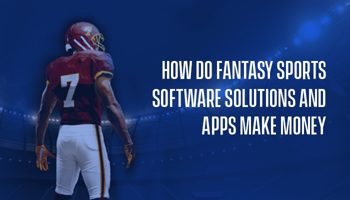 How Do Fantasy Sports Software Solutions and Apps Make Money