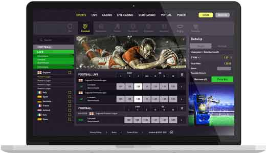 Sport betting online software delaware park sports betting parlay cards