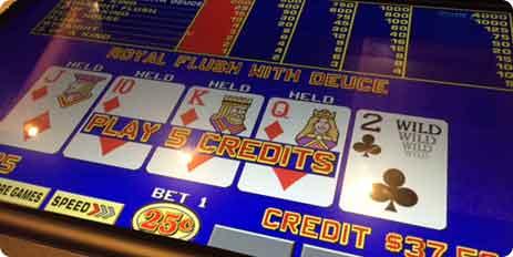 TRON Video Poker Games