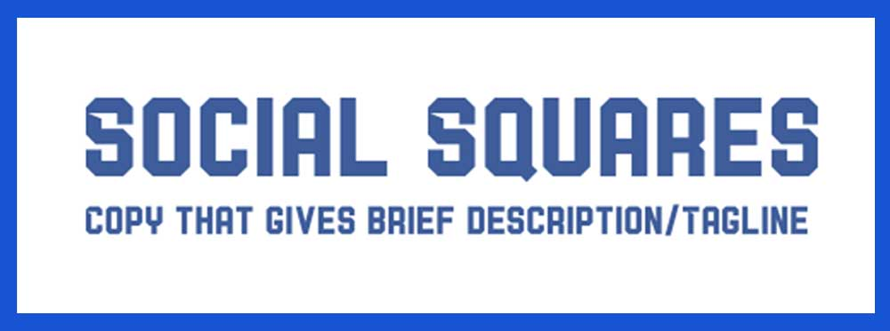 Social Squares