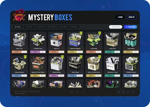Mystery Box Software