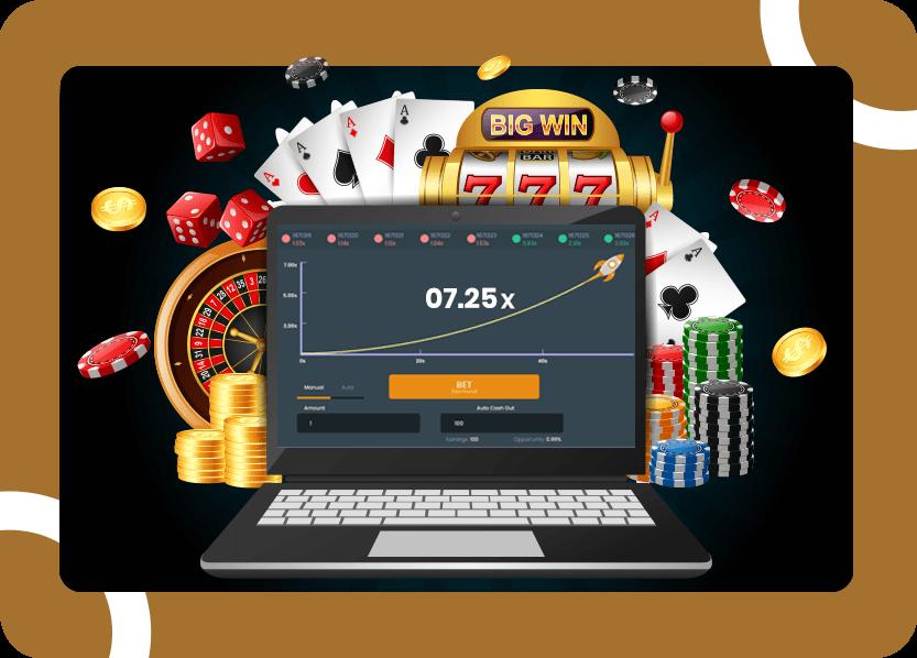 Crash Online Casino Software